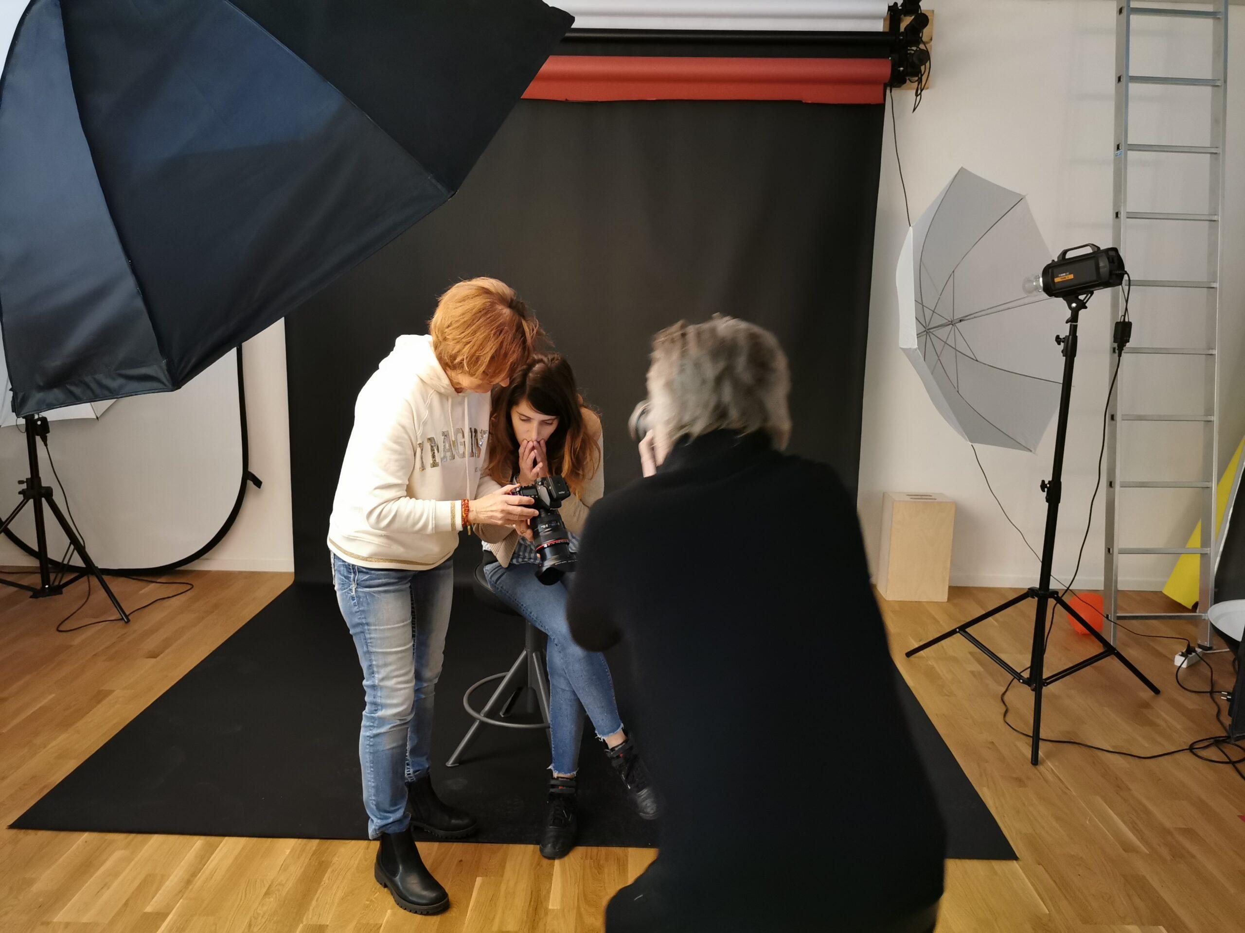 Studie i Studiofotografering