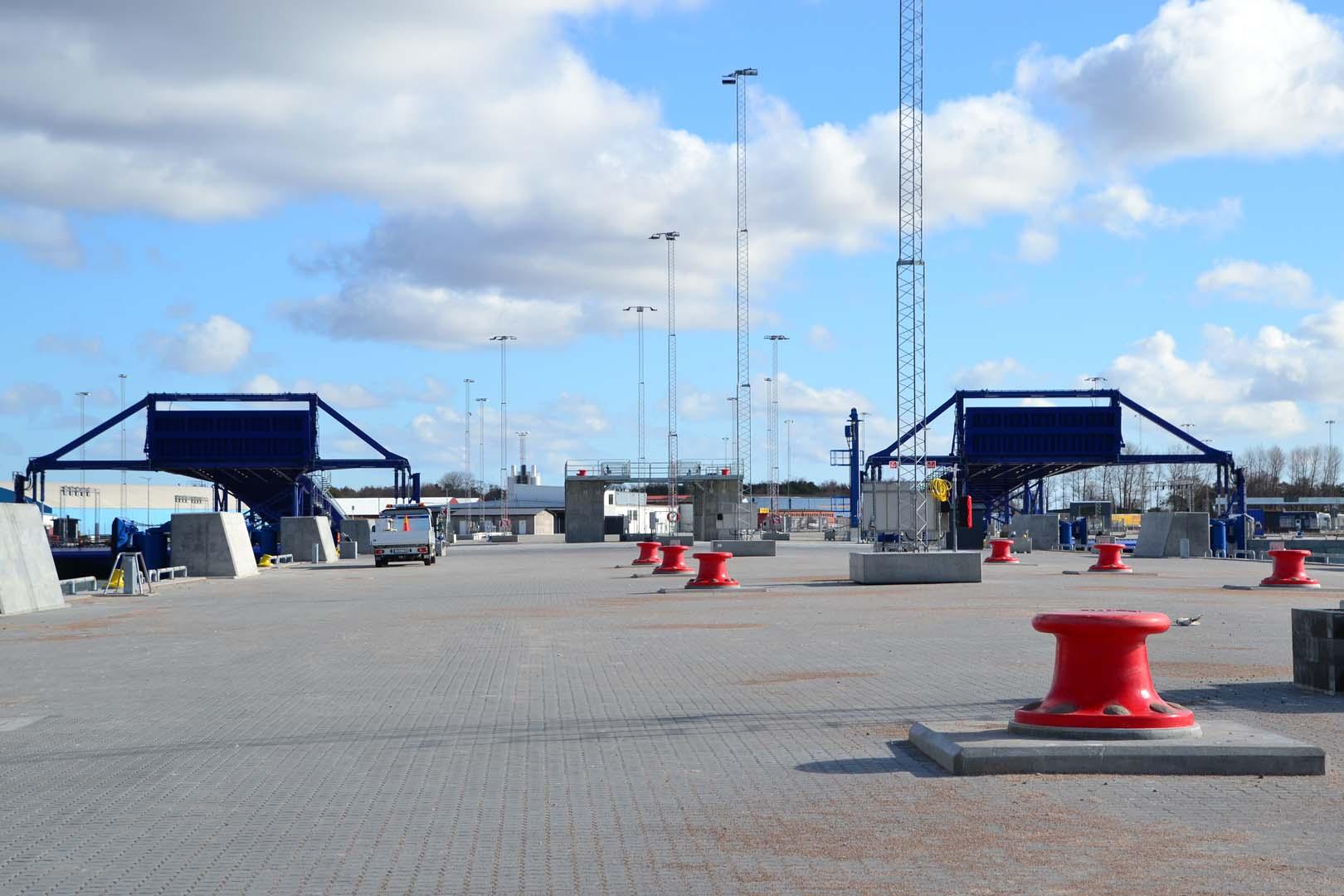 Utvecklingen av hamnen fortsätter